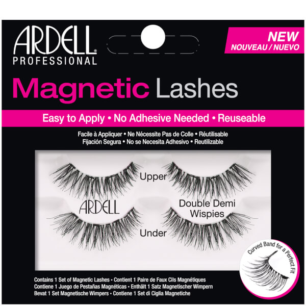 665fff618c0 ARDELL MAGNETIC LASH DEMI WISPIES FALSE EYELASHES with Free Applicator    eBeauty Supplies
